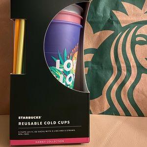 Starbucks Hawaii Aloha Vibes-Set of 5
